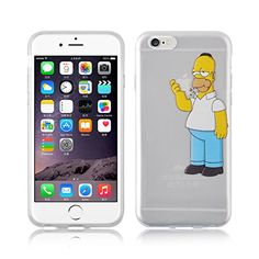 "JAMMYLIZARD Custodia per iPhone 6 4.7 "" HOMER SIMPSON silicone trasparente con pellicola proteggi schermo inclusa JAMMYLIZARD http://www.amazon.it/dp/B00QMJUYHW/ref=cm_sw_r_pi_dp_ng02ub1BJSYH4"