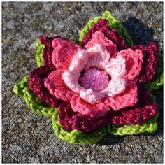 Die 19 Besten Bilder Von Gestrickte Gehäkelte Blumen Crochet
