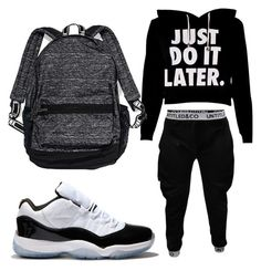 Black/White Swag by anaise-pagan on Polyvore featuring polyvore, fashion, style, Victoria's Secret and Concord