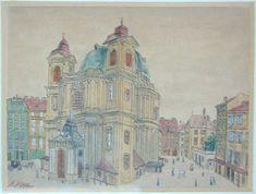St. Peter's Church in Vienna  #hitler #adolfhitler #artist
