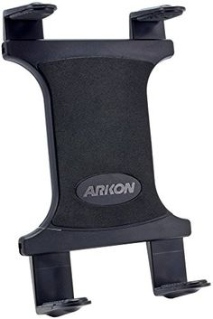 "Arkon Universal Tablet Holder for Apple iPad Pro iPad Air 2 iPad Air iPad 4 3 2 Samsung Galaxy Note 10.1 Galaxy Tab Pro 12.2 - Arkon's TAB001 Slim-Grip Universal Tablet Holder is compatible with most Arkon Dual-T mounting pedestals (sold separately) and fits all large tablets with 8.9""-18.4"" screen size, including Apple iPad Pro, iPad Air 2 and iPad Air, iPad 4, 3, and 2, Samsung Galaxy View, Galaxy Note 10.1, Galaxy Not..."