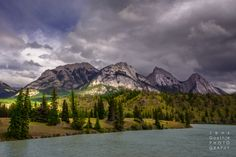 Kootenay Plains & Siffleur Falls - Rocky Mountains Canada - Jens Gaethje Fine Art Photography  #rockymaountains #canada