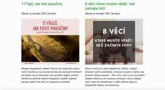 Lenka Dolečková a její ebooky ZDARMA: 17 fíglů, jak fotit pavučiny a 8 věcí, které musíte vědět, než začnete fotit