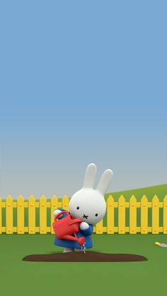 Miffy and her friends cell phone wallpaper-INSIDE Korea JoongAng Daily Cellphone Wallpaper, Mobile Wallpaper, Iphone Wallpaper, Kawaii Cute Wallpapers, Tumblr Backgrounds, Miffy, Korean Art, 3d Character, Print Pictures