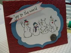 Frosty Friends by maryagnes - Cards and Paper Crafts at Splitcoaststampers