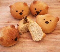 The Extraordinary Art of Cake: Teddy Bread! Teddy Bear Bread Rolls Recipe