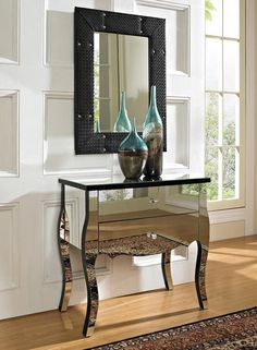 Mirrored 2 Drawer Console - Homeclick Community