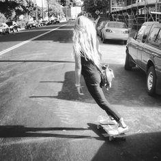 longboarding, longboard, board, skate