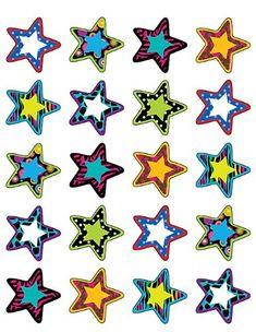 Teacher Created Resources Fancy Stars II Sticker 5202