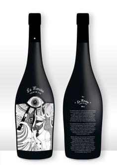 LE MARINE Premium Rum by José Manuel Fuentes Muñoz, via Behance