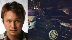 Multi-awarded and controversial actor Baron Geisler involved in a car accident early Tuesday morning in Pasig City.