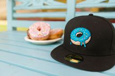 Treat yourself with a custom Donut hat! Personalize your own and make it one-of-a-kind with Lids Custom Zone. 🍩