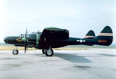 "Northrop P-61C Black Widow ""MoonLight Serenade"" at the National Museum of the USAF. (U.S. Air Force photo). During World War II, Northrop built approximately 700 P-61s; 41 of these were C models manufactured in the summer of 1945 offering greater speed and capable of operating at higher altitude. The Black Widow on display was presented to the museum by the Tecumseh Council, Boy Scouts of America, Springfield, Ohio, in 1958."