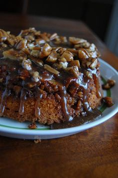 "Pumpkin ""Cinnamon Roll"" Coffee Cake......it says coffee, so it must be a breakfast food :)"