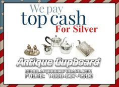 Antique Cupboard is THE place to find sterling silver flatware, and silverware.