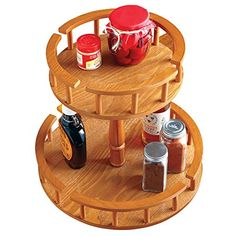 Easy Spin 2 Tiered Lazy Susan * Details can be found by clicking on the image.