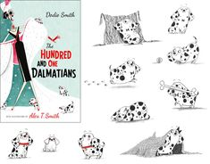 The Hundred and One Dalmations illustrated by Alex T Smith