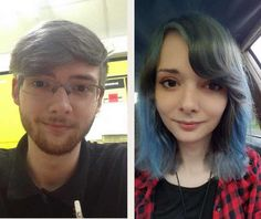 Post with 55812 views. Deadname and I just look like siblings at this point. Male To Female Transition, Mtf Transition, Male To Female Transgender, Transgender Girls, Lgbt, Mtf Hrt, Trans Mtf, Male To Female Transformation, Feminized Boys