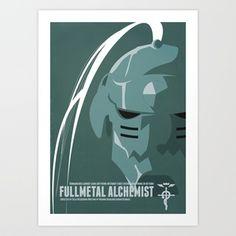 Fullmetal Alchemist Alphonse Helmet Series   Art Print by Cory Payne - $17.68 #fullmetal #alchemist #Alphonse #fullmetal alchemist #anime