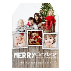 Show your family and friends that you care by sending them a country rustic wood merry Christmas photo card. Rustic, weathered wood background and whimsical mix of typography sets the stage for an playful country holiday greeting for family and friends. Merry Christmas Card Photo, Merry Christmas And Happy New Year, Holiday Photo Cards, Christmas Greeting Cards, Custom Greeting Cards, Christmas Greetings, Christmas Holiday, Rustic Christmas, Christmas Ideas