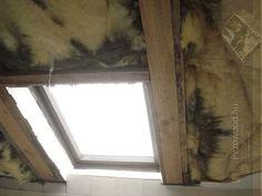 Rosszul beépített ablak, párazáró fólia hiánya, rossz szigetelés