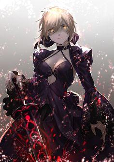 World of Our Fantasy Anime Girls, Kawaii Anime Girl, Anime Art Girl, Character Art, Character Design, Arturia Pendragon, Fate Stay Night Anime, Gilgamesh Fate, Fate Servants