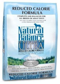 $47.99-$47.99 Natural Balance Reduced Calorie Formula is for all breeds of adult dogs. Natural Balance has been tested in a variety of different environments and situations, for example, with breeders, trainers, boarding kennels, rescue kennels as well as veterinarians... All With Outstanding Results.