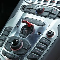 The Amazing Aventador's Cockpit! Sweet! The Start Stop Button Makes This Even Better!