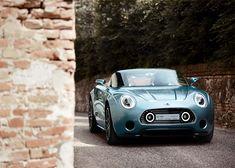 MINI has teamed up with bespoke Italian bespoke sports-car design company Touring Superleggera to create the MINI Superleggera Vision