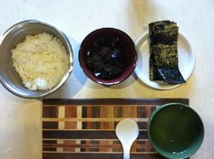 Let's make nori rolls.