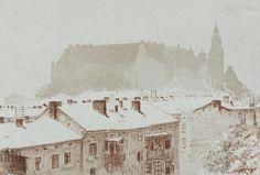Leon Wyczółkowskis View Of Wawel In Winter (via http://ift.tt/1Lnj0gn