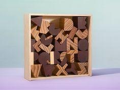 Areaware Alphabet Blocks