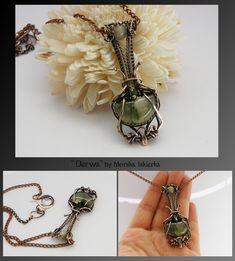 Derwa- wire wrapped pendant by mea00 on deviantART