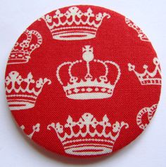 Red Crown Pocket Mirror 2.99