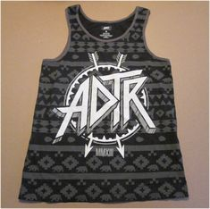 ADTR A Day To Remember Mens tank Top Size Adult Medium BUY IT NOW