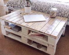 Pallet Coffee Table LEMMIK Farmhouse Style by FarmhousePalletsCo