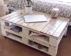 Palette Table basse LEMMIK ferme Style par FarmhousePalletsCo