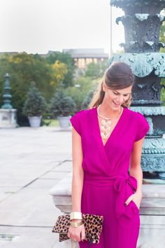 Dana Frost of The Closet Confessional is #SoDVF in the Purdy Crepe Jumpsuit! http://on.dvf.com/1KO2IwV