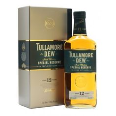 Buy Tullamore DEW 12 Year Irish Whiskey online and have Irish whisky shipped fast! Best price on Tullamore Dew Irish whiskey at Ace Spirits. Whiskey Decanter, Whiskey Glasses, Whiskey Drinks, Cigars And Whiskey, Scotch Whiskey, Whiskey Bottle, Rye Whiskey, Irish Whiskey Brands, Best Irish Whiskey