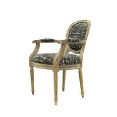 Best Master Furniture Rustic Olive with Black Accent Arm Chair