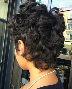Best hairstyle for long face women hairstyles long easy,women hair color lowlights bangs hairstyles for teens,pixie hairstyles over 50 beach hairstyles. Dope Hairstyles, Cute Hairstyles For Short Hair, Short Curly Hair, Short Hair Cuts, Curly Hair Styles, Natural Hair Styles, Black Hairstyles, Curly Pixie, Pixie Styles