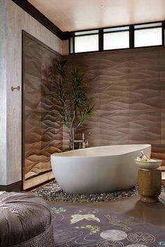 asian bathroom decor - Internal Home Design Asian Bathroom, Zen Bathroom, Bathroom Interior, Modern Bathroom, Bathroom Ideas, Bathroom Designs, Bathtub Designs, Natural Bathroom, Bad Inspiration
