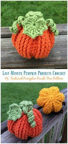Last-Minute Pumpkin Projects Crochet Free Patterns For A Perfect Halloween Party Crochet Pumpkin Pattern, Pumpkin Applique, Halloween Crochet Patterns, Knit Or Crochet, Crochet Hooks, Free Crochet, Crochet Leaf Free Pattern, Thanksgiving Crochet, Holiday Crochet