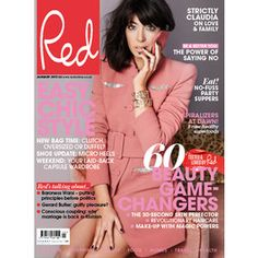 Claudia Winkleman, Red January 2015 Issue. Read our full interview with Claudia and go behind the scenes at Redonline.co.uk