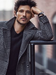 Andres Velencoso Segura Models Street Smart Tailoring Looks for Robb Report