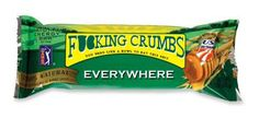 So delicious, but yeah, they're crumbly as hell.