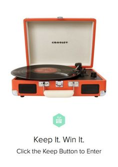 I've always wanted a #Crosley! Enter to win on Keep.com!