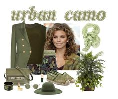 """Urban Camo"" by katiethomas-2 ❤ liked on Polyvore featuring Valentino, FAUSTO PUGLISI, ADAM, Balmain, Ermanno Scervino, Proenza Schouler, Sun Buddies, Halcyon Days, Fallenbrokenstreet and Dolce&Gabbana"