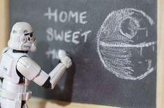 Home sweet home - Off-Duty Stormtrooper Art
