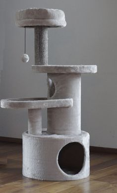 Cat Activity Centre, Cat Tree Plans, Large Cat Tree, Cat Heaven, Cat Tree House, Cat Water Fountain, Animal Gato, Diy Cat Tree, Cat Towers